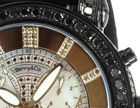 Black Benny & Co Watch Benny & Co