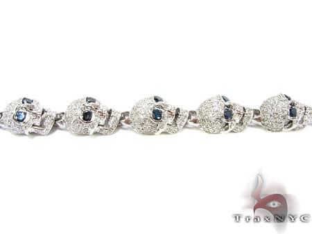 Custom Jewelry - Diamond Skull Bracelet Diamond