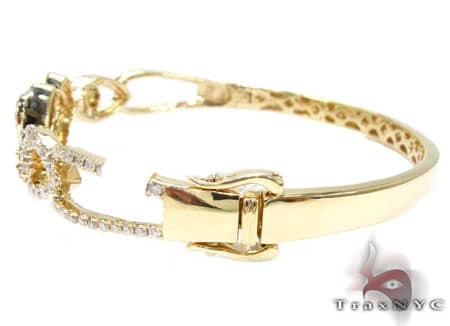 YG Heart of Gold Bracelet Diamond