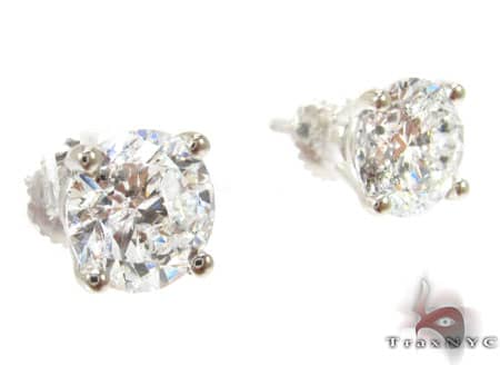 XL Solitaire Studs Stone