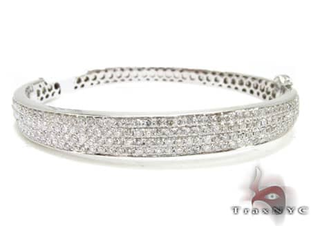 4 Row Icy Bangle Bracelet Bangle
