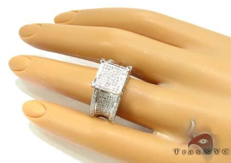 Deep Dish Ring 3 Anniversary/Fashion