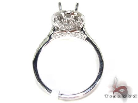 Wonderland Semi Mount Ring Engagement
