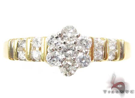 3 Piece Dechantal Ring Set Engagement