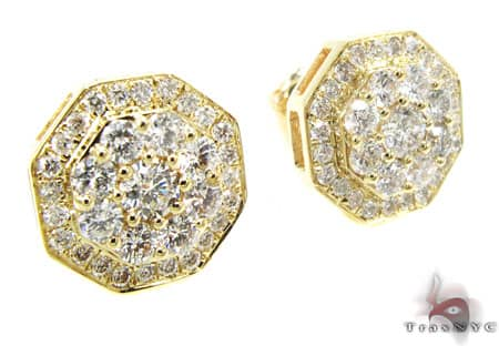 YG Yasman Earrings Stone