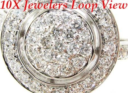 Circular Diamond Ring 2 Anniversary/Fashion