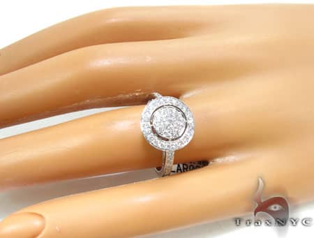Circular Diamond Ring 2 Anniversary/Fashion