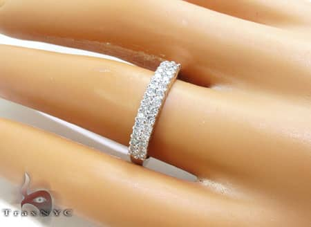WG Two Row Eternity Band Wedding