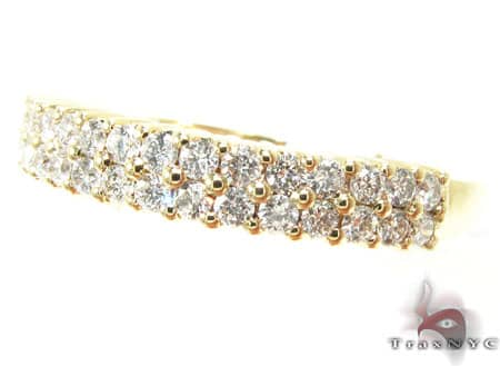 YG Two Row Eternity Band 12317 Style