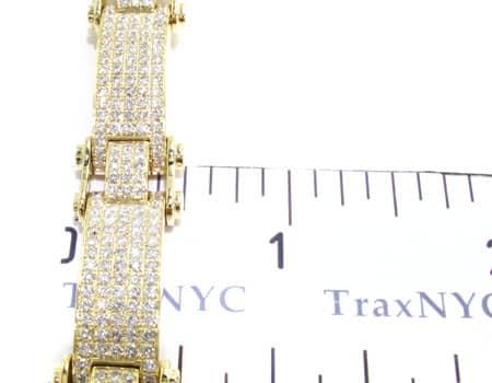 Pave Scroll Bracelet Diamond