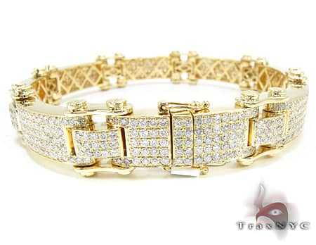Pave Scroll Bracelet Diamond