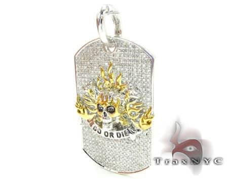 Do or Die Dog Tag Metal