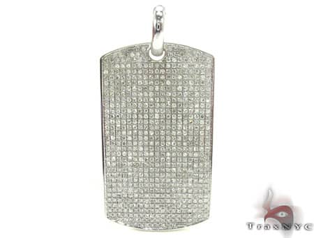 Round Cut Dog Tag Metal