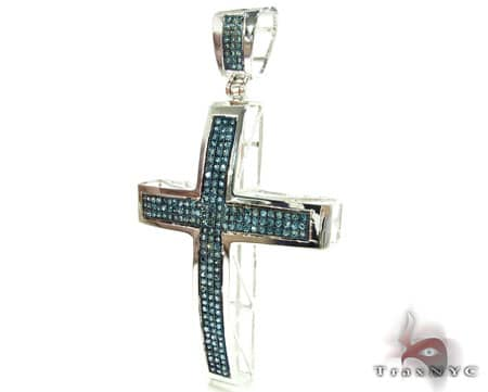 Blue Diamond Junior Cross Diamond