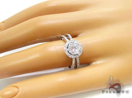 WG Crown Ring Engagement