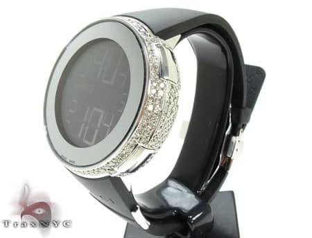 Fully Iced Digital Gucci Watch Gucci