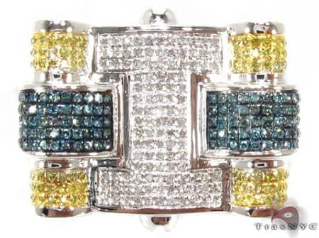Multi Color Puzzle Ring Stone