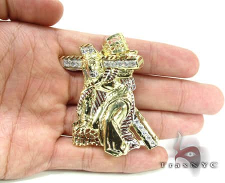 Small Crucifix Crossion Pendant Metal