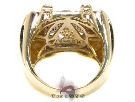 Multi Color Rocksolid Ring Stone