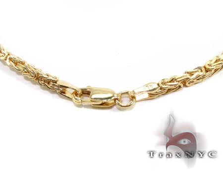 YG Byzantine Chain 22 Inches, 2mm, 7.20 Grams Gold