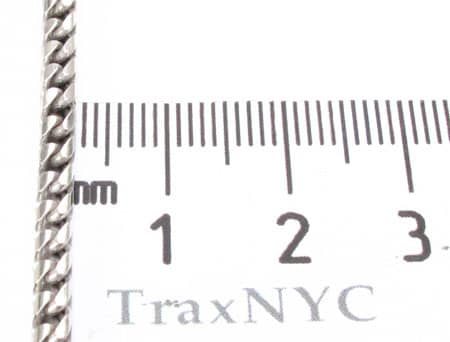 Gold Dipped Silver Franco Chain 30 Inches, 2mm, 43.50 Grams Silver