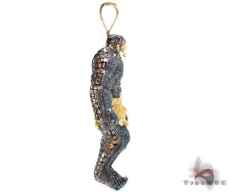 Custom Jewelry - Hulk Pendant Metal