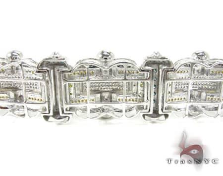 Multi Color Anchor Bracelet Diamond