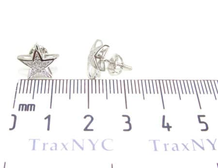 Mini Star Earrings 2 Stone