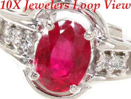 Ruby Lolita Ring Anniversary/Fashion