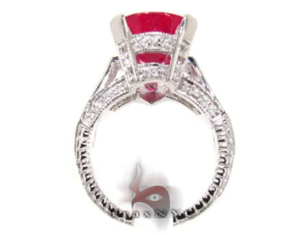 Eccentric Ruby Ring Anniversary/Fashion