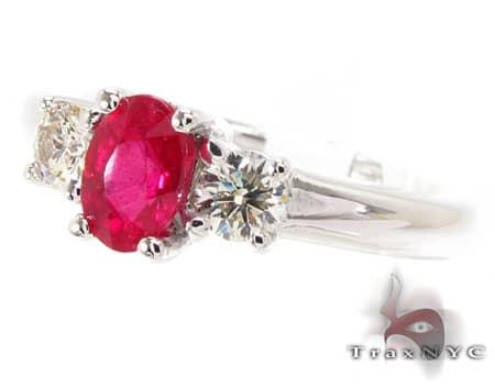 Ruby & Diamond Ring 12842 Anniversary/Fashion