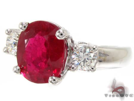 Ruby & Diamond Ring 12853 Anniversary/Fashion