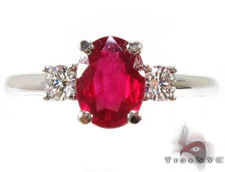 Ruby Red Ring 7 Anniversary/Fashion