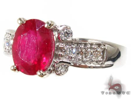One of a Kind Ruby Ring Anniversary/Fashion