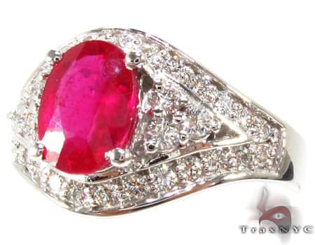 Superior Ruby Ring Anniversary/Fashion