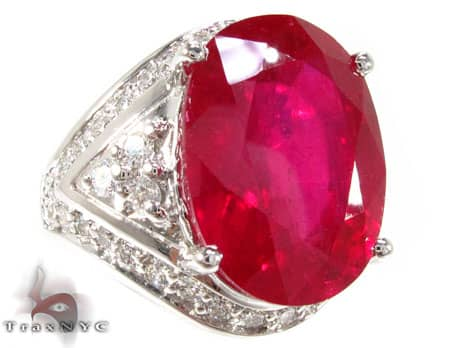 One of a Kind Ruby Ring 3 Anniversary/Fashion