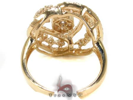 YG Heart Cluster Ring Anniversary/Fashion