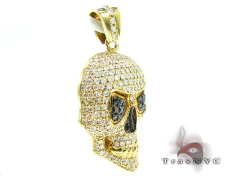 Yellow Head Pendant Metal