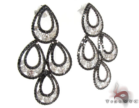 Cleopatra Diamond Earrings 25597 Style