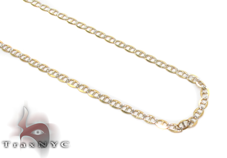 14K Gold Gucci Chain 16 Inches 1.5mm 0.9 Grams Gold