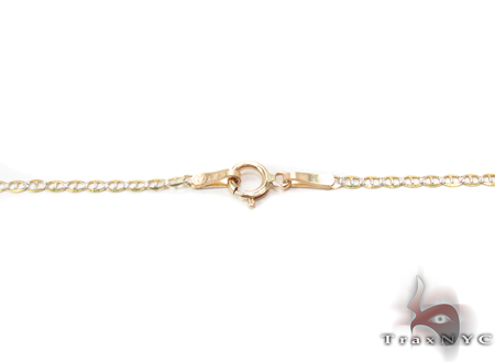 14K Gold Gucci Chain 18 Inches 1.5mm 1.00 Grams Gold