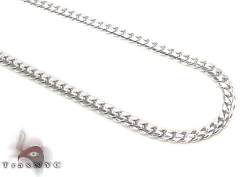 14K Gold Cuban Chain 18 Inches, 2.5mm, 9.9 Grams Gold