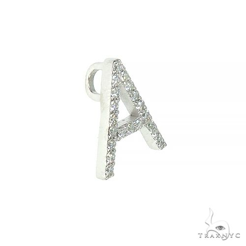 14K Gold Diamond Initial Collection Metal