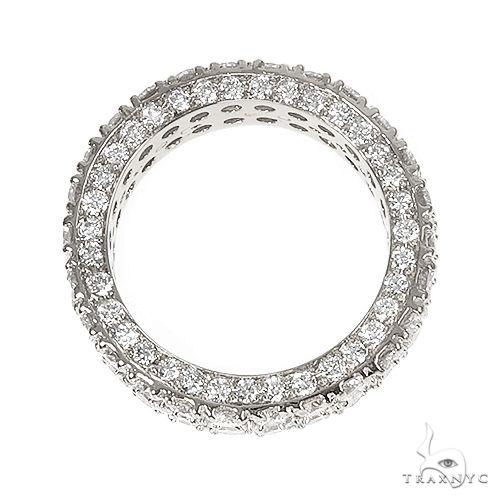 14K Gold Eternity Diamond Ring 66874 Stone