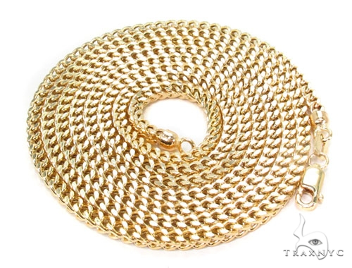 14K Gold Franco Chain 36 Inches 2.5mm 17.6 Grams Gold