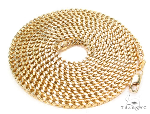 14K Gold Franco Chain 40 Inches 2.5mm 19.6 Grams Gold