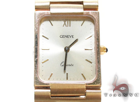 14K Gold Geneve Watch Special Watches
