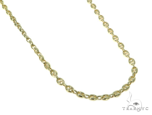 14K Gold Gucci Chain 30 Inches 5.1mm 52.7 Grams 41379 Gold
