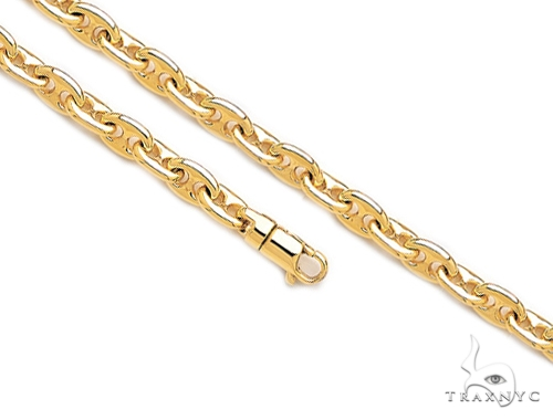 14K Gold Gucci Chain 30 Inches 8.5mm 166.5 Grams 41364 Gold