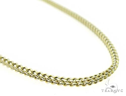 10K Gold Jesus Pendant Set 49667 Style